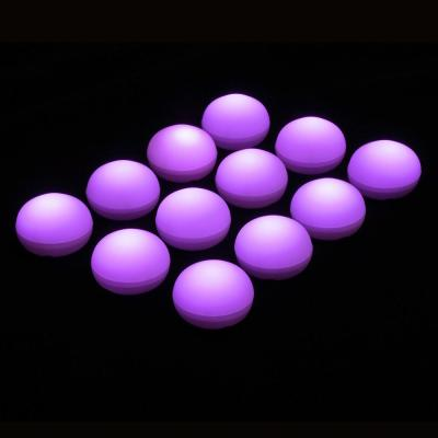 1.25 in. D x 0.875 in. H x 1.25 in. W Purple Floating Blimp Lights (12-Count)