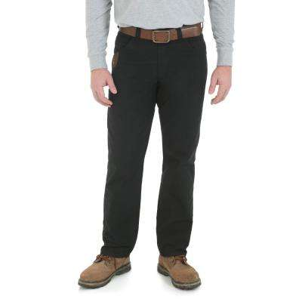 Men's Size 36 in. x 36 in. Black Technician Pant