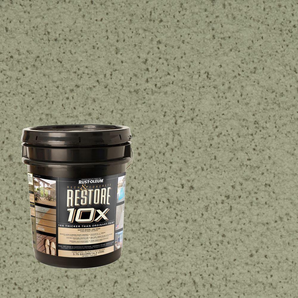 Rust-Oleum Restore 4-gal. Marsh Deck and Concrete 10X Resurfacer