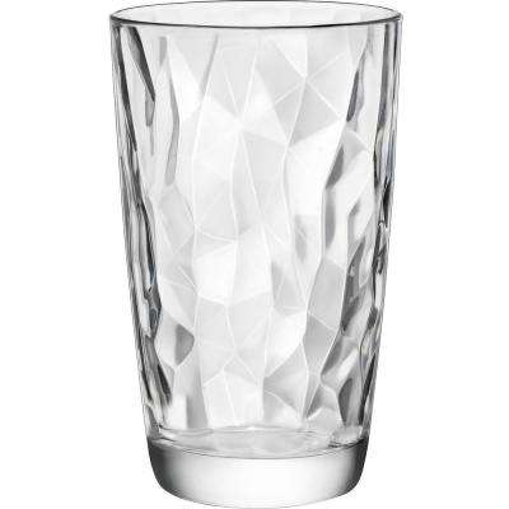 16 oz. Diamond Cooler Glass (Set of 6)