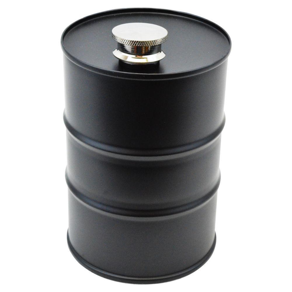 26 oz. Novelty Oil Barrel Flask