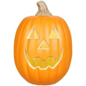 12 in. Lighted Jack-O-Lantern