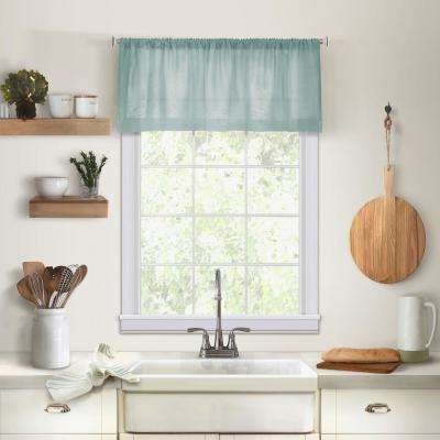 Elrene Cameron 60 in. W x 15 in. L Mineral Single Window Kitchen Valance