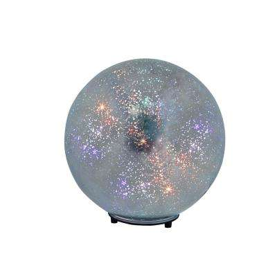 9 in. Year-Round Mercury Glass Wireless Speaker Sphere