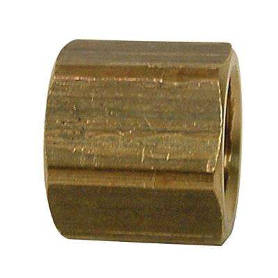 Lead-Free Brass Pipe Cap 1/4 in. FIP