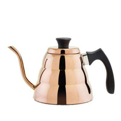 DuraCopper 4.23-Cup Stovetop Coffee and Tea Kettle in Copper