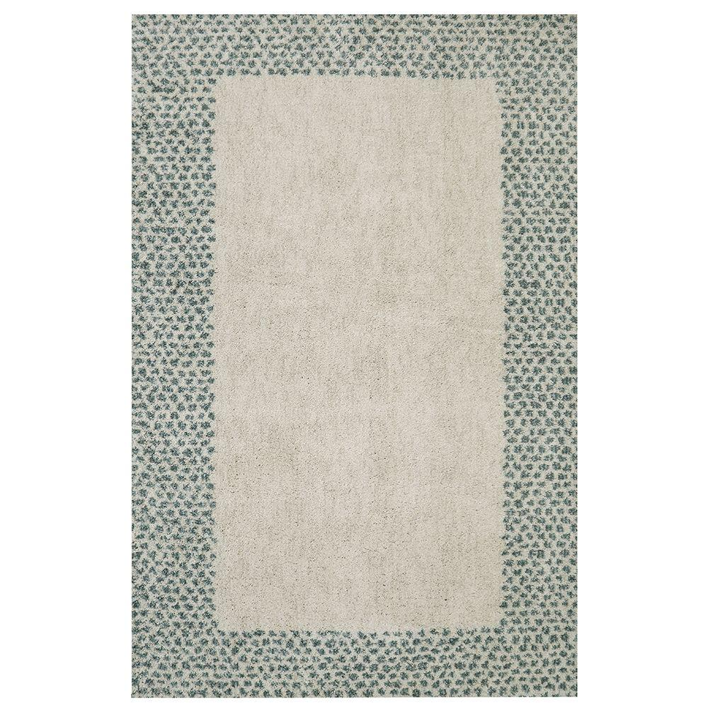 Mohawk Home Spotted Border Green 8 Ft X 10 Ft Indoor Area Rug