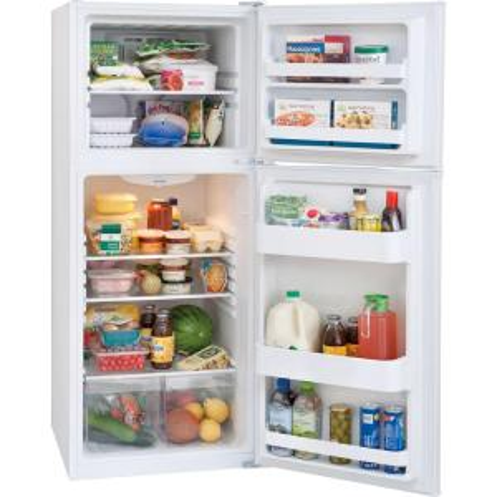 Frigidaire 11.5 cu. ft. Top Freezer Refrigerator in White, ENERGY ...