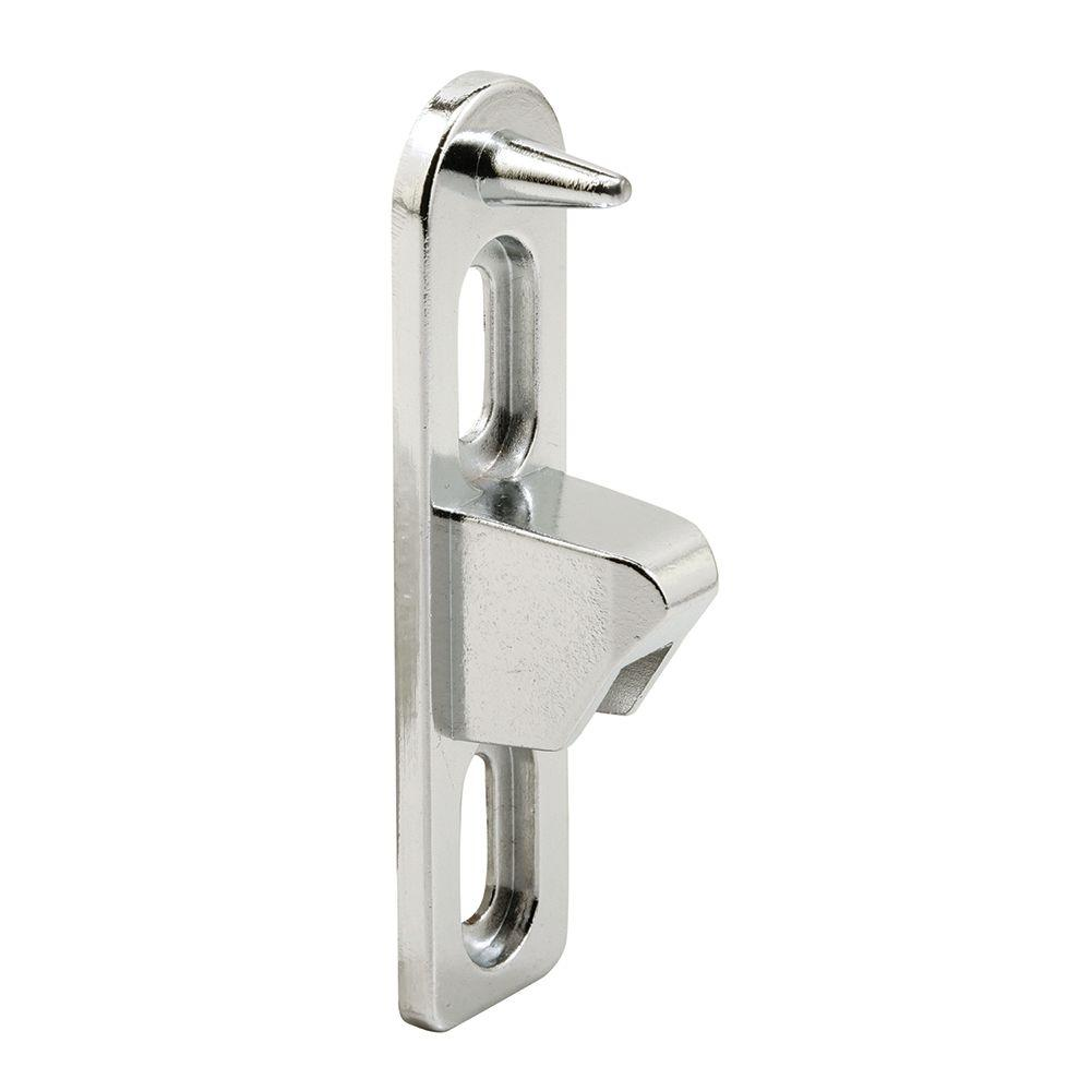 Chrome Plated Die Cast Sliding Door Keeper with Anti Lift Pin