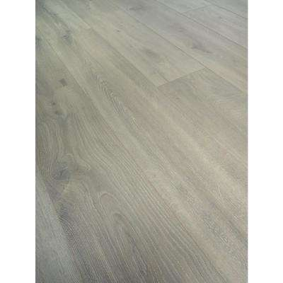 Take Home Sample -EIR Eastvale Gray Oak Laminate Flooring - 5 in. x 7 in.