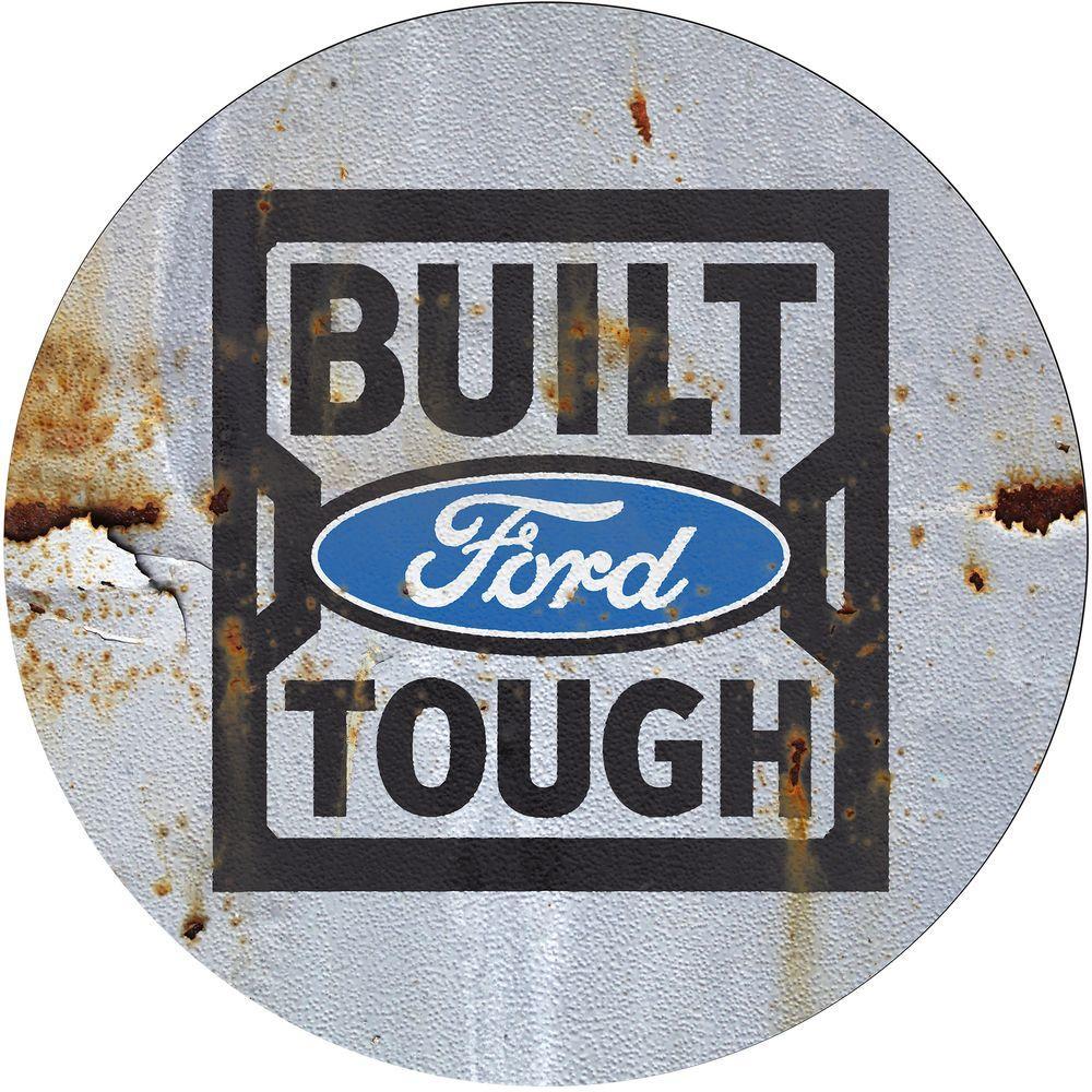 Ford Built Tough 31 In Chrome Swivel Cushioned Bar Stool