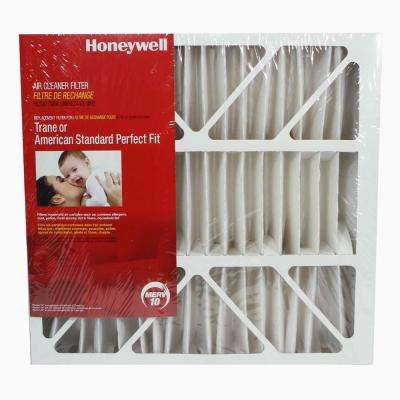 21 1/2 in. x 21 in. x 5 in. MERV 10 Replacement Air Cleaner Filter