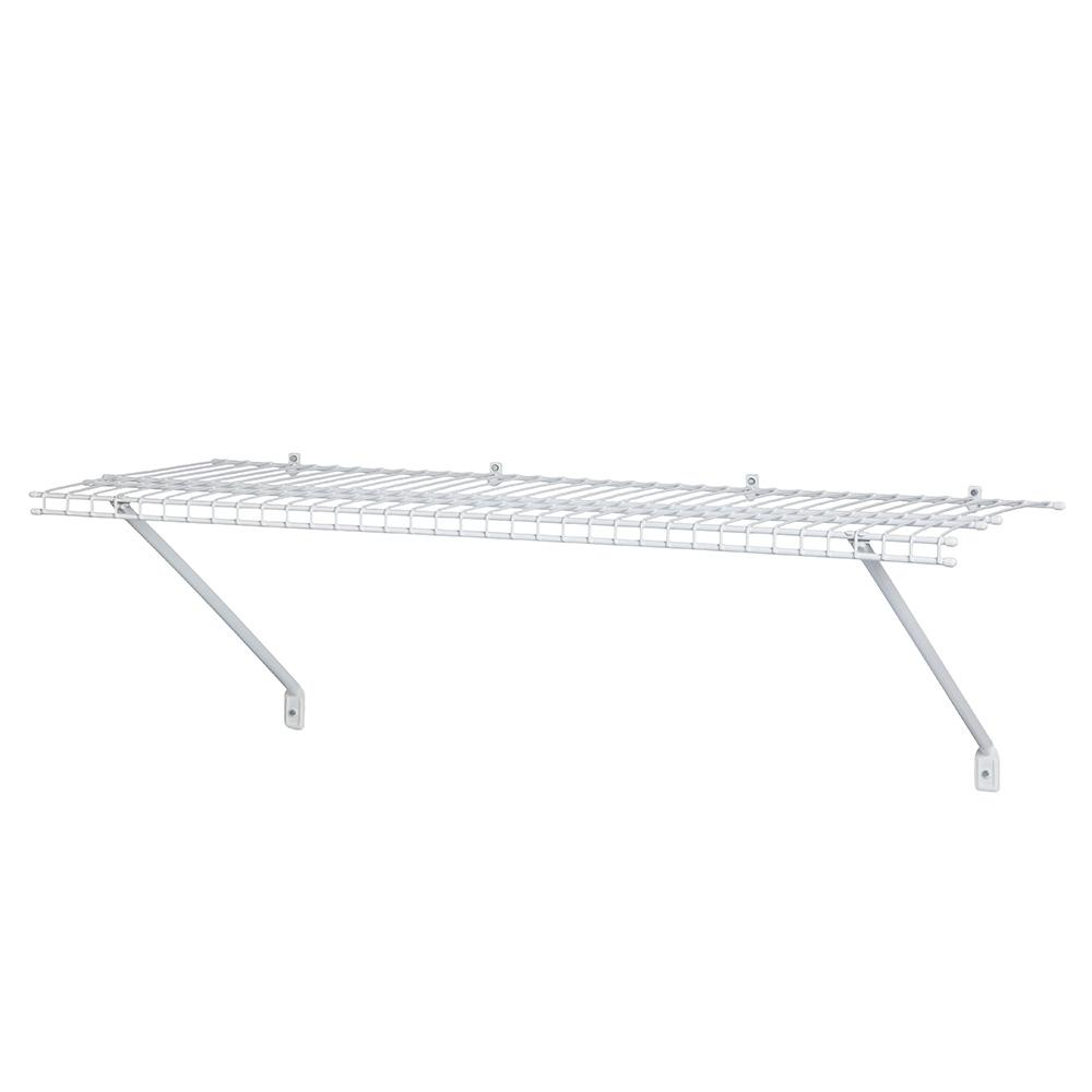 ClosetMaid 12 in. D x 48 in. W x 12 in. H Ventilated Wire Closet System Shelf Kit