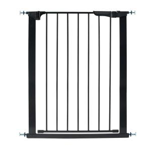 KidCo 36 inch H Pressure Mount Gate Tall and Wide Auto Close Gateway in Black by KidCo
