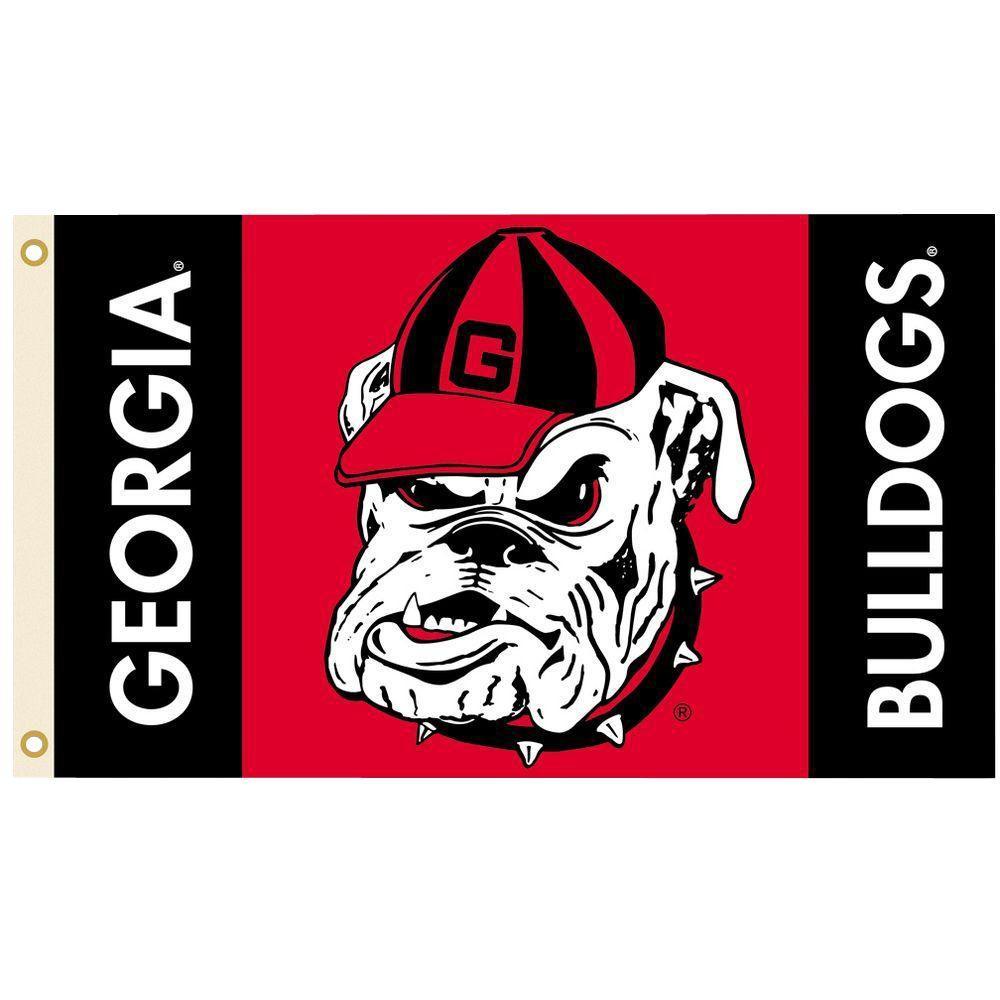 NCAA 3 ft. x 5 ft. Georgia Flag