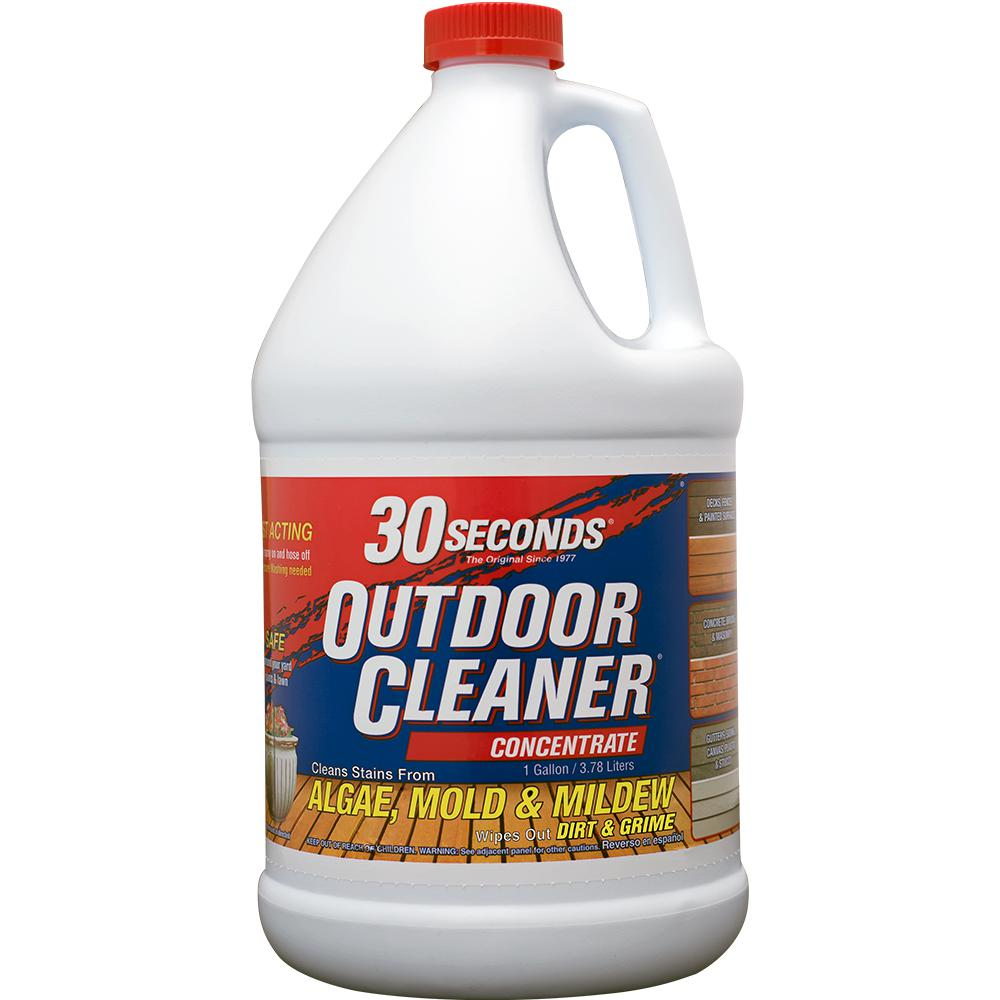 30 Seconds 1 Gal Outdoor Cleaner Concentrate 100047549 The Home Depot