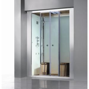 Athena Deluxe 2-Person Steam Shower Enclosure Kit with Sliding Doors by Athena