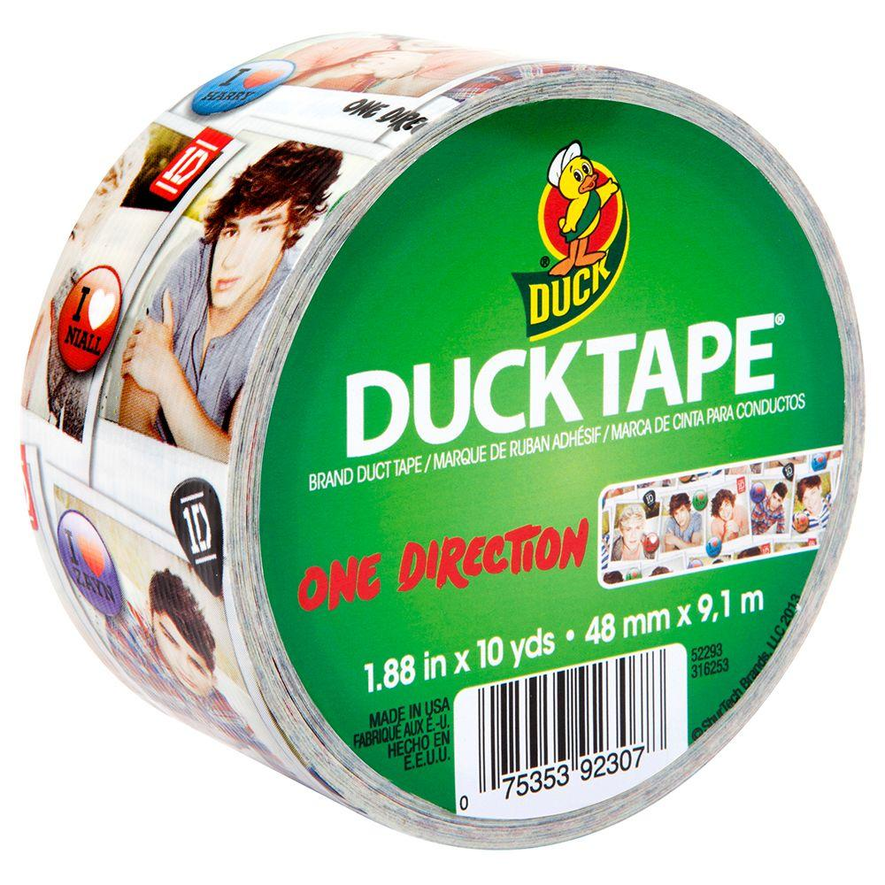 Duck 1.88 in. x 10 yds. One Direction Duct Tape (6-Pack)