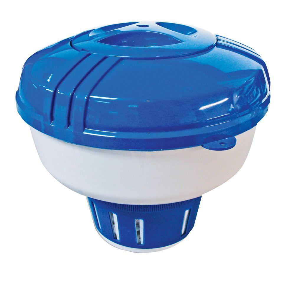 Pool Shop Size Chlorine Bromine Floating Dispenser 64157 The Home Depot