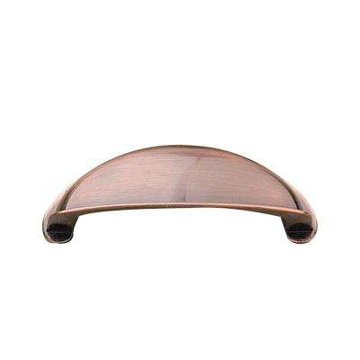 Antique Copper Pull - Copper - Drawer Pulls - Cabinet Hardware - The Home Depot