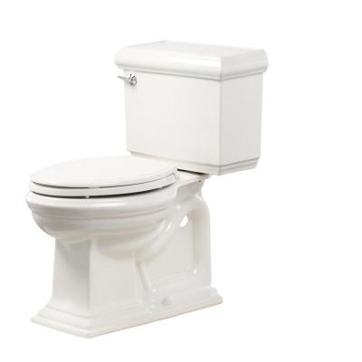 Memoirs 2-Piece 1.28 GPF Single Flush Elongated Toilet in White, Seat Included