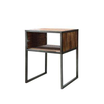 Essesx Natural Brown End Table