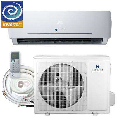 18,000 BTU 1.5 Ton 208/230V Ductless Mini Split Air Conditioner - Inverter, Heat Pump, Remote and 16 ft. Copper Line Set