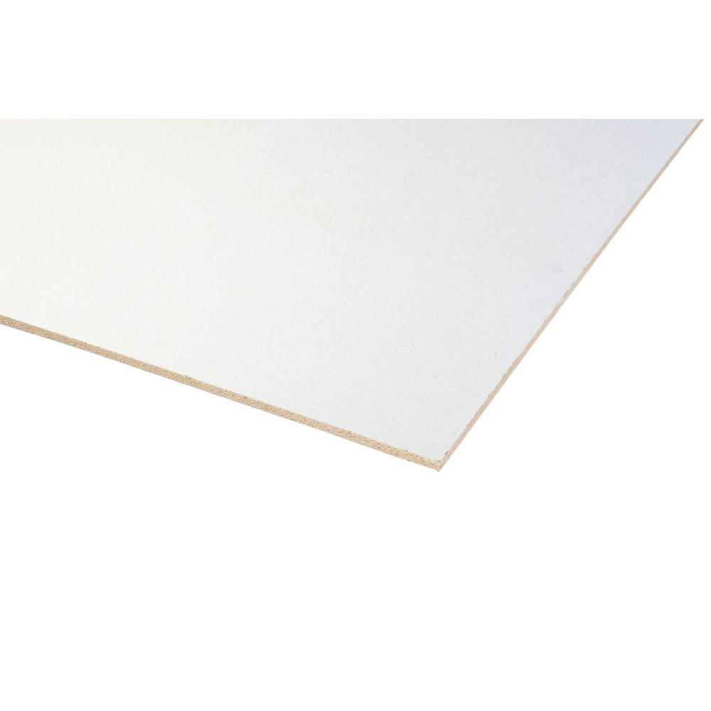 1/2 in  x 48 in x 8 ft  R1 3 White Insulated Fiberboard Sheathing