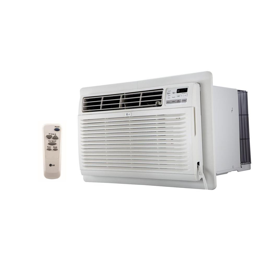 LG Electronics 8,000 BTU 115-Volt Through-the-Wall Air Conditioner with  ENERGY