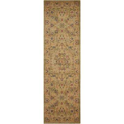 Lumiere Sage 2 ft. x 8 ft. Runner Rug