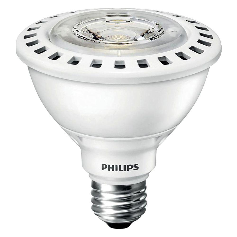 Philips 75W Equivalent Bright White PAR30S Flood ULW Indo...