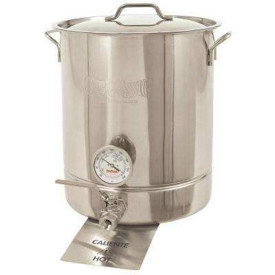 10 gal. Stainless Steel Standard Brew Kettle (4-Piece)