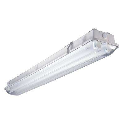 2-Light 4 ft. Instant Start, Wet Location, White Strip Light