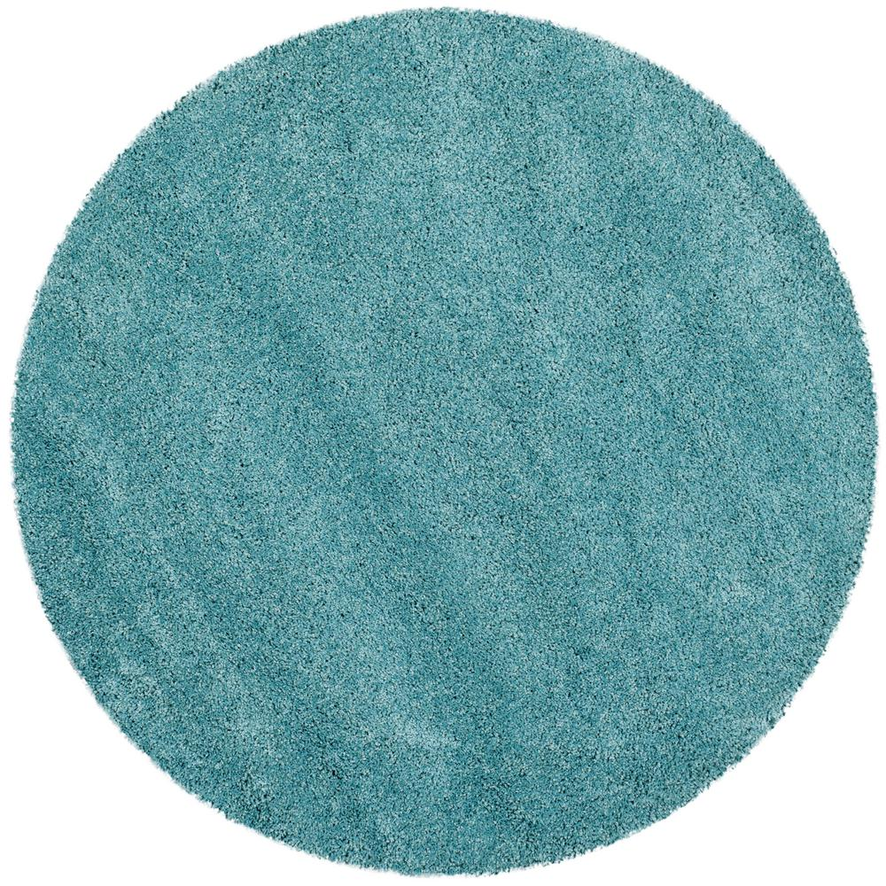 Safavieh Milan Aqua Blue 10 Ft X Round Area Rug Sg180 6060 10r The Home Depot
