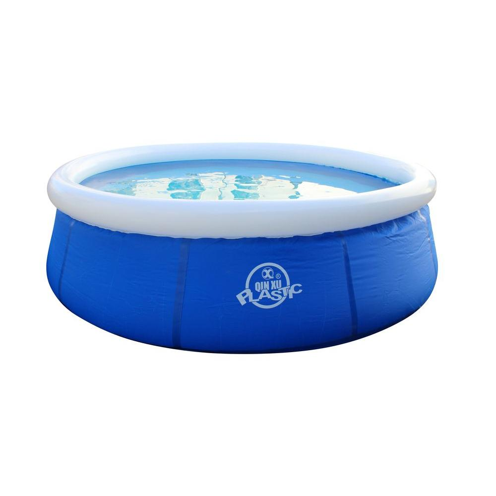 Esse 8 ft. x 26 in. EZ Blue Round Pool