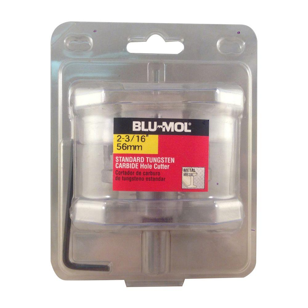 BLU-MOL 2-3/16 in. Standard Tungsten Carbide Hole Cutter