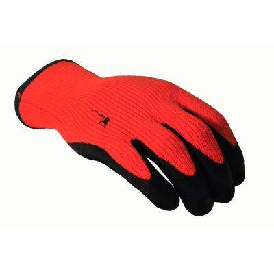Winter Grip Medium Master Heavy Textured High Visibility Latex Coated Gloves
