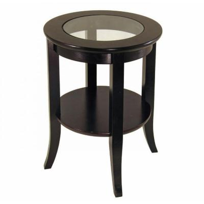 Genoa Espresso End Table