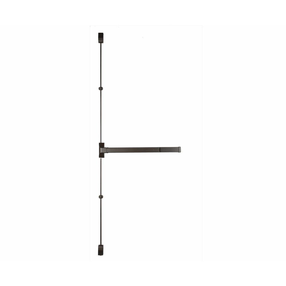 36 in. Dark Bronze Grade 1 Vertical Rod Exit