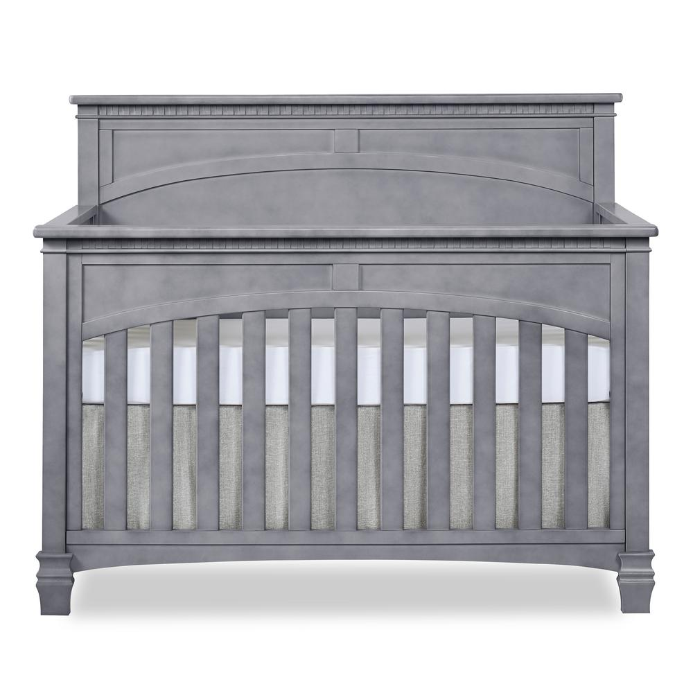Santa Fe Storm Grey 5 in 1 Convertible Crib