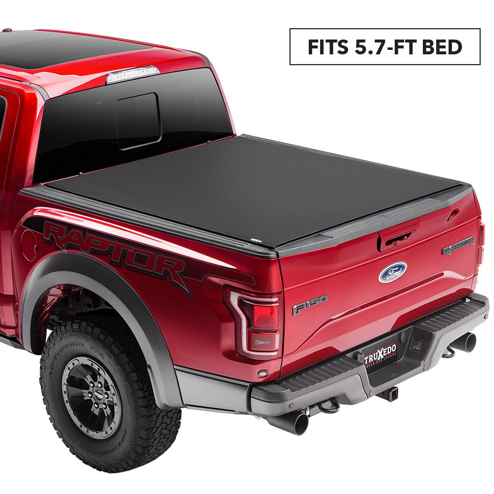 Truxedo Pro X15 Tonneau Cover 15 19 Ford F150 5 Ft 7 In Bed 1497701 The Home Depot