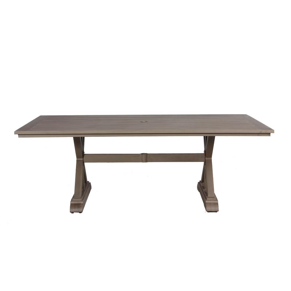 Aruba Aluminum Outdoor Dining Table