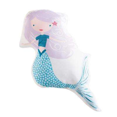 Kids Mermaids Shaped Pillow