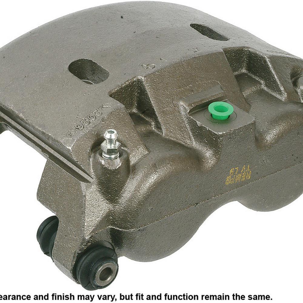 Disc Brake Caliper-Friction Choice Caliper w//Bracket Front Left Cardone Reman