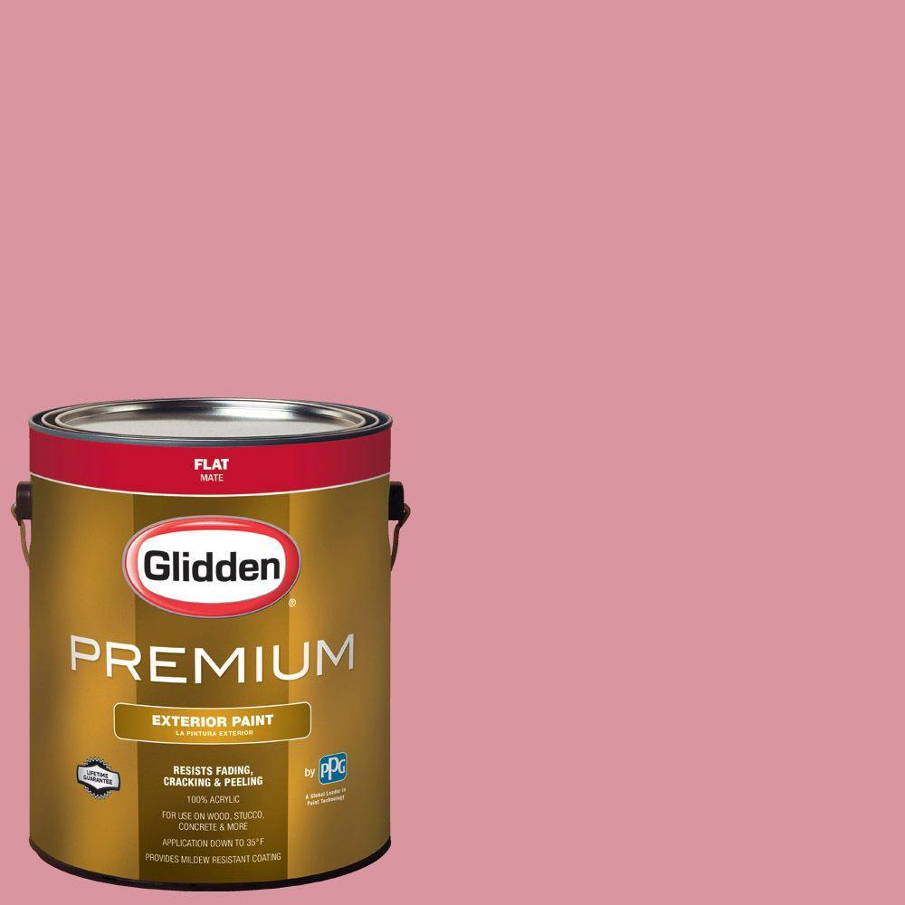 Glidden Premium 1-gal. #HDGR20U Light Rosey Blush Flat Latex ...