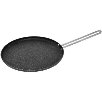 Rock 10 in. Multi Pan with Stainless Steel Wire Handle in Black