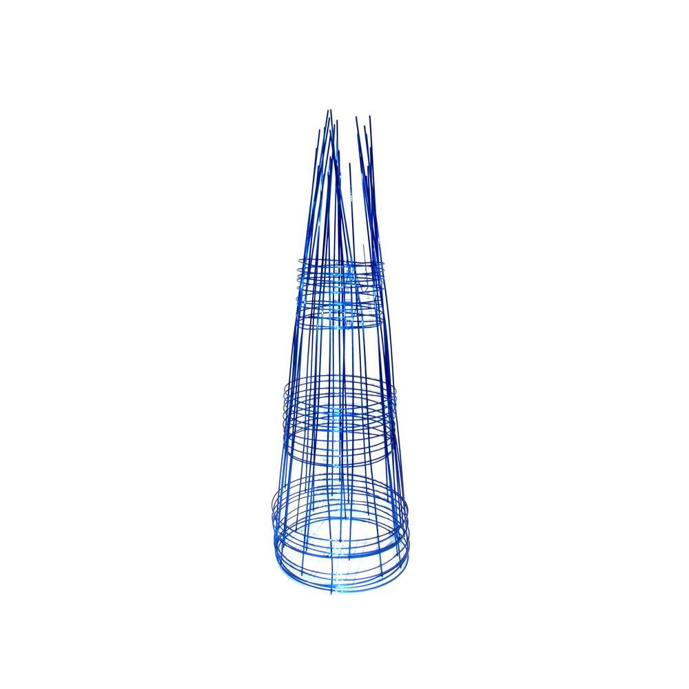 Glamos Wire Products Blazin Gemz Collection 33 in. Sapphire Blue ...