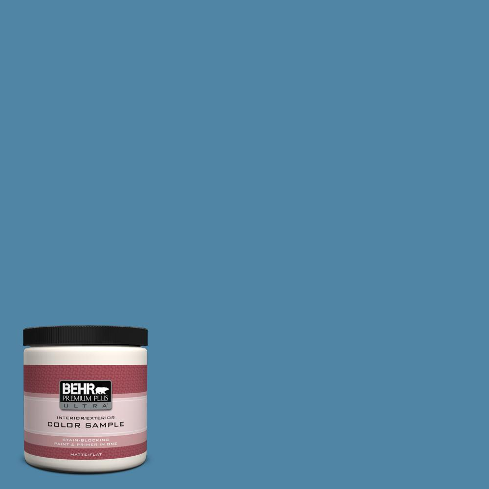 BEHR Premium Plus Ultra 8 oz. #M500-4 Hemisphere Interior/Exterior Paint Sample