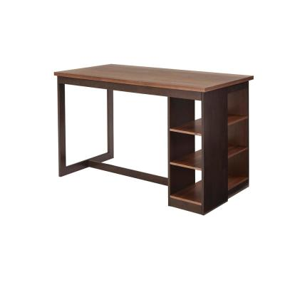 Kenny Walnut/Chocolate Counter Storage Table