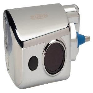Zurn EZ Flush Valve with Impact Resistant Chrome Plated Cover by Zurn